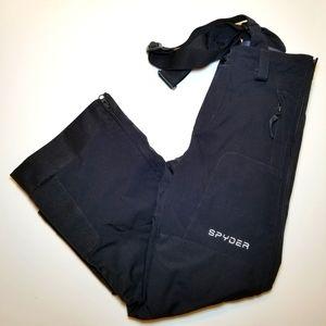 Spyder Suspender Snow/Ski Pants Black